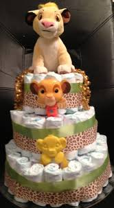 lion king diaper cake my diaper cakes pinterest diapers
