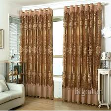 European Lace Curtains European Sheer Curtains Ready Made Window Curtains Golden