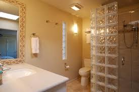 glass block bathroom ideas bathroom partial glass block shower wall and glass block bathroom