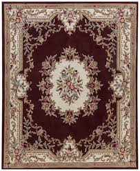 Burgundy Area Rugs Km Home Dynasty Aubusson Burgundy Area Rugs Rugs Macy U0027s