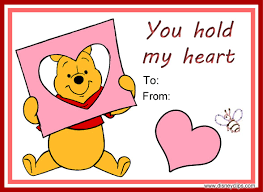 winnie the pooh valentines day printable disney s day cards disneyclips