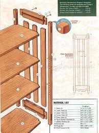 Woodworking Bookcase Plans by Arts And Crafts Bookcase Plans U2022 Woodarchivist