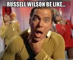Russell Wilson Memes - 22 meme internet russell wilson be like russellwilson choke