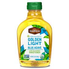 Light Blue Golden Light Agave Madhava