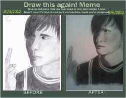 draw this again meme by x doll face x on deviantart