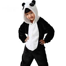 Panda Halloween Costumes Sleepwear Gown Picture Detailed Picture Cartoon Xmas