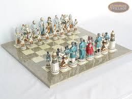 american heritage chess sets civil war theme gammonvillage