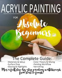 acrylic painting for absolute beginners ebook