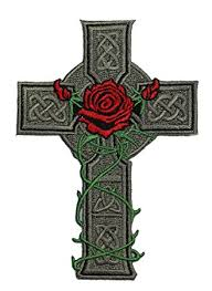 amazon com application celtic cross with patch toys