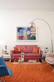 Sofa Pillows Ideas by Interior Pink Sofa Pillows Balanced By Modern Wall Paint Ideas