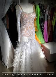 ballroom dress rental u2013 white id 266 ke dancewear