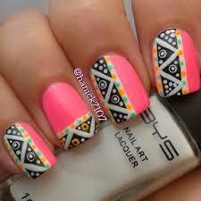 tribal nail art nail art ideas