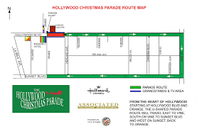 thanksgiving day parade map hollywood christmas parade 2015 route street closures how to