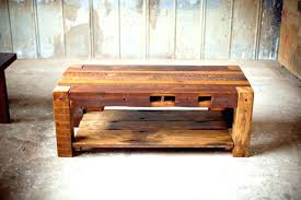 custom made coffee tables reclaimed wood furniture coffee table tables south with storage