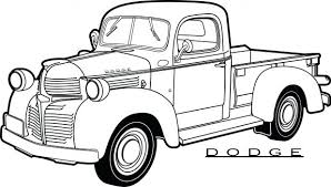 dodge truck coloring pages coloring pages truck coloring pages truck coloring