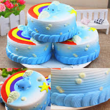 party cake jumbo squishy party cake scented rising kid