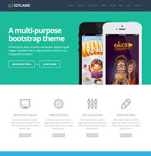 bootstrap themes free parallax free bootstrap simple theme