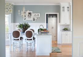 Custom Cornices Greige Bedroom Kitchen Traditional With White Granite Faucets