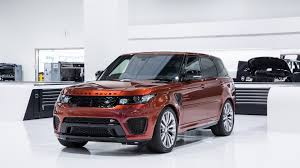 land rover one jaguar land rover will launch one svr model each year until the