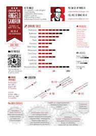 Example Of Creative Resume by Examples Of Creative Graphic Design Resumes Infographics 2012