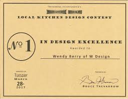 kitchen design contest w design awarded for design excellence in sub zero wolf local