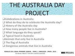 our australia project year 3b
