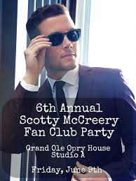 scotty mccreery fan club announcing the 6th annual scotty mccreery fan club party