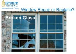 Replace Broken Window Glass Window Repair Cleveland Integrity Windows Repairs Window Glass