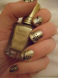 black and gold nail polish designs u2013 slybury com
