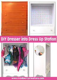 mimiberry creations diy dress up station