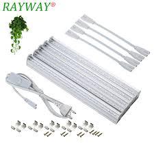 t5 vs led grow lights rayway led grow light full spectrum t5 tube led indoor plant l