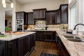Flush Kitchen Cabinet Doors Traditional Kitchen With High Ceiling U0026 L Shaped In Eagle Id