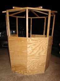 2 Person Deer Blind Plans Hunting And Fishing Cubit Building A Blind That Blends With The