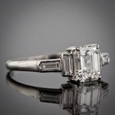 antique vintage u0026 estate engagement rings u2013 champagne gem