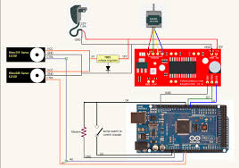 stepper only vibrating with arduino mega and easy driver arduino