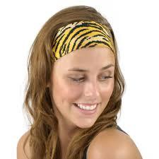 tiger headband animal print feline tiger leopard headband headwear headwrap hair