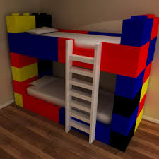 Funky Lego Bunk Beds Manufactured To Order By Our Friendly Team In - Funky bunk beds uk
