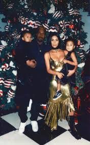 kim kardashian and kanye west release new family photo the