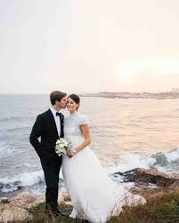 25 dreamy beach wedding dresses martha stewart weddings