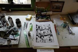 bureau dessinateur bureau de dessinateur bureau photo je pense prendre un tabouret d