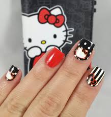 ncla hello kitty wraps u2013 nailstorming