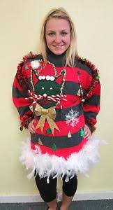 light up ugly christmas sweater dress ugly christmas sweater women size large sugar canes mittens https