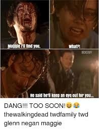Maggie Meme - maggie ill find you what rickstuff he said he ll keep an eye out