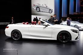 Mercedes C Class Coupe Convertible Mercedes Benz S Class Cabriolet And S63 Cabriolet Are The Open Top