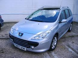 peugeot 307 sw used 2007 peugeot 307 sw sw s hdi for sale in hastings east sussex