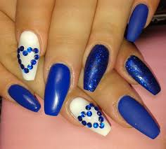 red white and blue nail designs blue nail designs to beauty your