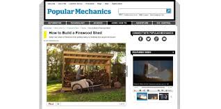 Plans For Building A Firewood Shed by 8 Best Plans On How To Build A Shed Easily