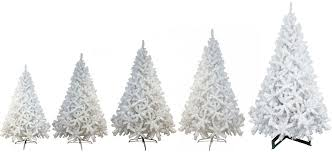luxury 6ft 7ft 8ft 12ft white artificial trees
