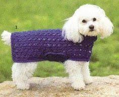 crochet pattern for dog coat crochet dog sweater free pattern crochet love pinterest