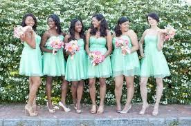 seafoam green bridesmaid dresses pretty mint colored bridesmaid dresses elite wedding looks
